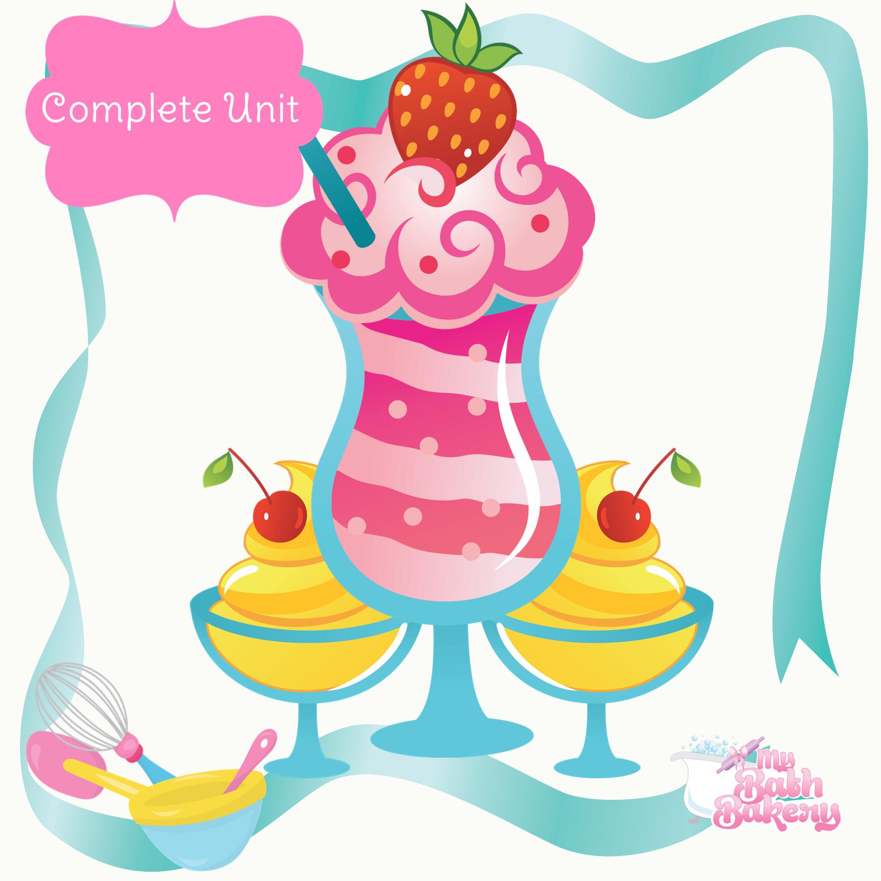 5edf35255 Sugar Scrub Create-a-Station Unit (w/ Bubble Scrub!) – My Bath Bakery